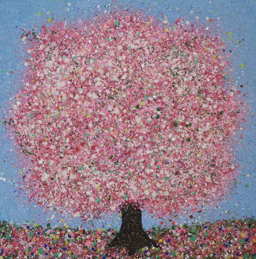 Cherry Blossom Bliss ii, Nicky Chubb